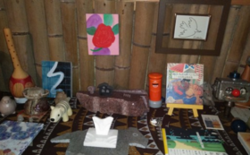 「小さな森の和美術館」所蔵作品を一つお送りいたします!①