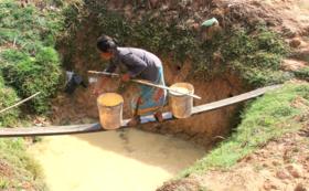 【 カンボジアの地方へ安全な水を!】写真つきレポートをお送りします