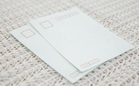 手すき和紙ポストカード(2枚組)
