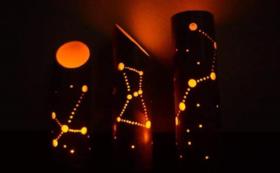 【star forest体験フルコース①】星空ツアー+日中の体験型ワークショップ(星座竹キャンドル)