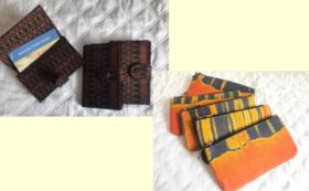 【カンボジアシルク製品を購入して応援】名刺ケース OR 財布 をお届け!