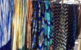 【カンボジアシルク製品を購入して応援】スカーフをお届け!
