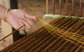 【Activity in Cambodia】 hand woven-experience opportunities