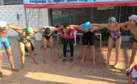 【夢を一緒に】一緒にカンボジア選手と練習&コーチ