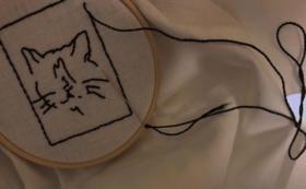 刺繍のプレゼント