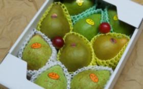 「とろける食感がたまらない洋梨!!」+ぶどう畑にお名前の刻印