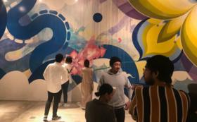 壁画完成記念グッズ+完成パーティご招待