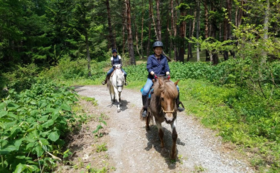 馬と自然を感じようプラン(外乗無料券)