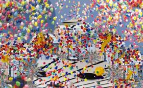 最高の感動をお届けします!~300個の風船が舞うスパークバルーンorバルーンリリース