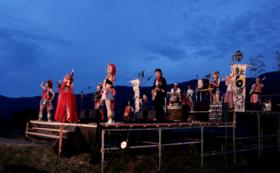 棚田ステージ使用権【5月30日(木)】+全会場・全日程・全演目共通パスポート3枚+支援者限定缶バッジ