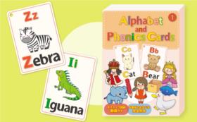 Alphabet and Phonics Cards ① アルファベット&フォニックスカード①