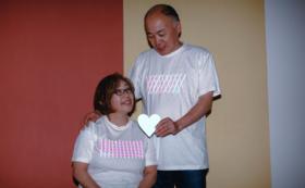 [2枚セット]家族やカップル、親子で着よう!お揃いモチーフTシャツ!