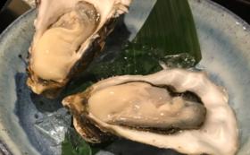 【牡蠣お試しコース】厚岸産の生牡蠣10個付