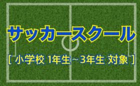 【小学校低学年向け】サッカースクール参加権