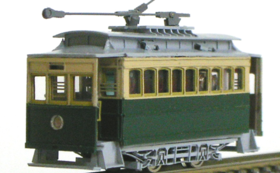 Nゲージ:京都市電 N電 27尺車