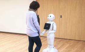 療育用ロボットアプリでお名前をご紹介(事業者)