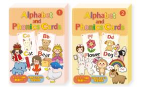 Alphabet and Phonics Cards ①&②アルファベット&フォニックスカード①&②