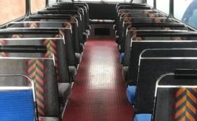 ロンドンバス車内シート(2人掛け)