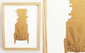 企画者石井額装作品「cabinet」