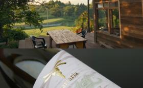 ⑤ワインと宿泊券でのお礼です