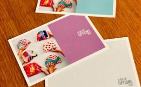 ブランド初年度イメージポストカード