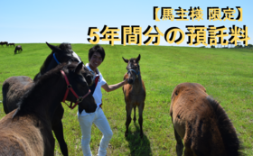 14, 【馬主様限定】5年分預託料