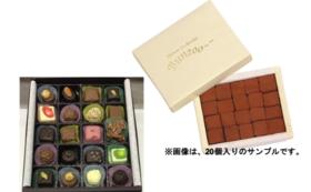 5, 【Readyfor限定セットA】オリジナル生チョコ3点+プラリネ20粒入りセット