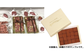 6 ,【Readyfor限定セットB】オリジナルルビーチョコ3点+生チョコ詰め合わせセット