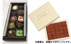 2, 【Readyfor限定価格セット】生チョコ(ミルク)35粒入り+プラリネ10個入りセット