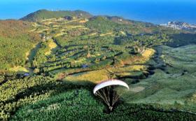 鳥の目線を体験!パラグライダー体験フライト(体験の模様の空撮をお届けします)