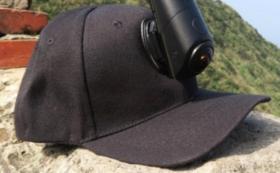 【アクセサリーも20%OFF】<OmiCam専用>カメラマウントハット