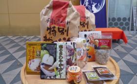 特A 鳥取県産「きぬむすめ」10kg×2回 + 鳥取のご飯のお供詰合せ