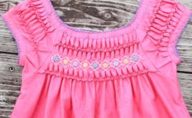 キリバス民族衣装「tibuta」をオリジナルで作成