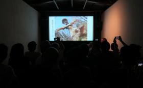 秋田人形道祖神プロジェクトの出張スライド&トークショー