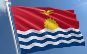 キリバス国旗ピンバッジ