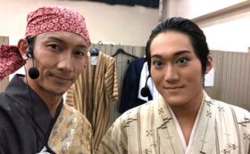 ファン必見!演出家:松永太郎率いる劇団員と一緒に1日過ごす権利!