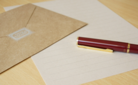 B: 出場選手からの直筆の手紙