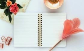 オリジナルノートセットとサンクスカードを送付。ホームページにお名前を掲載し、Facebookでご報告。