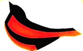 ロゴ入りエコバッグとオリジナルノートセットを送付。ホームページにお名前を記載し、Facebookでご報告。