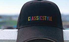 RAINBOW 刺繍 CAP PLAN
