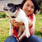 オーバーヘイム容子&スヌープ(犬)