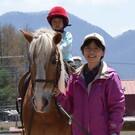 峯崎 友香理(馬の学校代表)