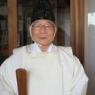 田中義光 (  加賀田神社  宮司 )
