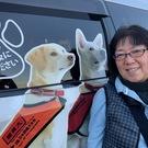 (福)日本聴導犬協会 会長 有馬もと