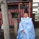 相槌神社(宮司 高月)